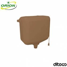 Cisterna plástica ocre Orion de 9 litros