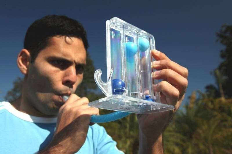 Ejercitador de pulmón Respiron - 1