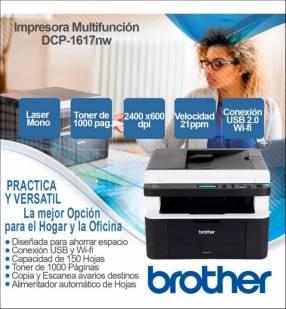 Impresora Brother Multifunción DCP1617NW