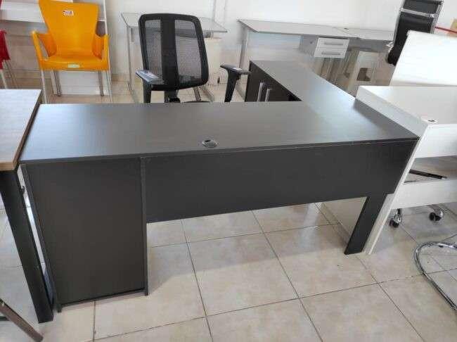 Escritorio angular Office Canto NT2005 Notal negro Abba - 2