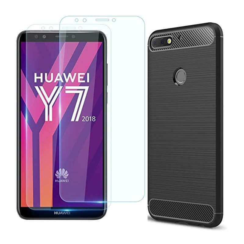 Protector de pantalla vidrio Huawei Y7 2018 - 1