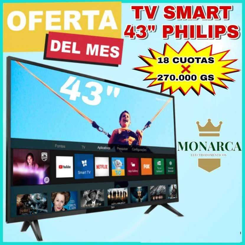 Smart TV Philips de 43 pulgadas - 0