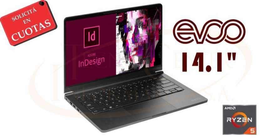 Notebook Evoo Ultra Thin Ryzen 5 14 pulgadas - 0