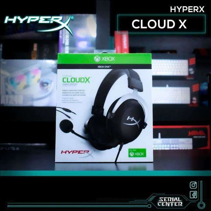 Auricular Hyperx Cloud X 3.5 Jack - 0