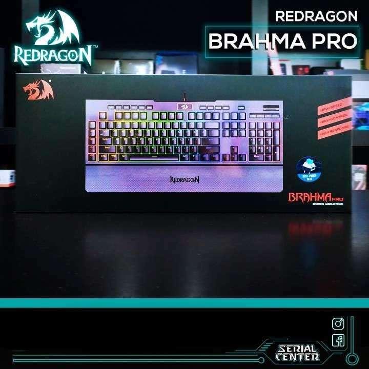 Teclado mecánico Redragon Brahma Pro RGB S/Blue K586 - 0