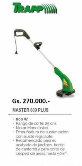 Bordeadora Trapp Master 800 Plus