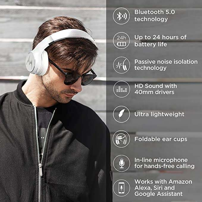 Auricular Motorola Escape 220 white - 0
