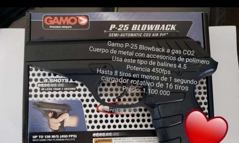 Pistola Gamo p25 a gas co2 - 0