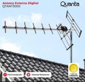Antena externa digital Quanta