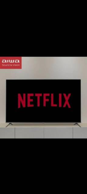 Smart TV 42 pulgadas Aiwa + soporte giratorio