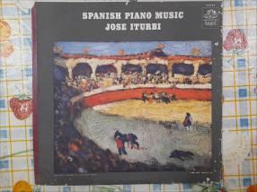 Disco de vinilo de José Iturbi - Spanish Piano Music