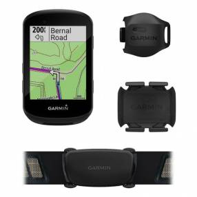 GPS Garmin Edge 530 Bundle para ciclismo + cinta HR