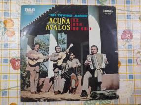 Vinilo El Dúo de Oro Acuña Avalos Mi Divino Amor LP