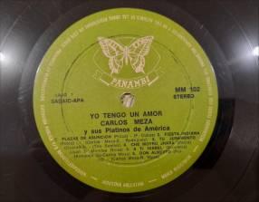 Vinilo Carlos Meza - Polcas y Guaranias