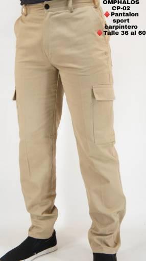 Pantalón carpintero para caballero