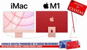 Apple iMac 24 pulgadas M1 (2021) Pink