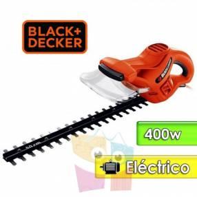 Podadora de cerca viva motor eléctrico 400W 42 cm Black+Decker HT420