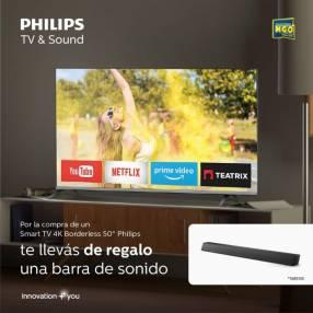Smart TV Philips 4K UHD 50 pulgadas