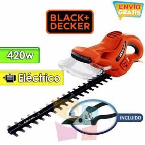 Podadora de cerca viva motor eléctrico 420W Black+Decker HT500KIT-B2