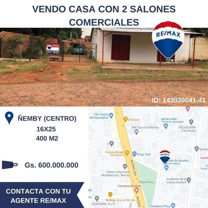 Casa y 2 locales comerciales en Ñemby - 0