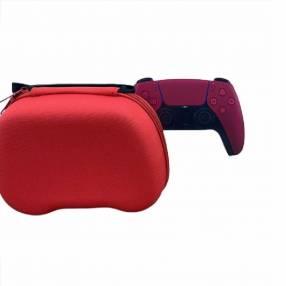 Control PS5 rojo con case