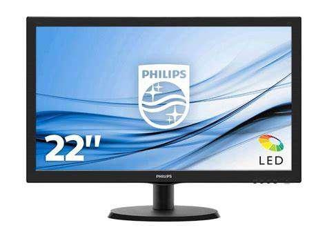 Monitor led 22 pulgadas Philips 223V5LHSB2 FHD hdmi vga - 0