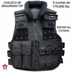 Chaleco de seguridad negro