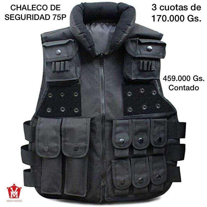 Chaleco de seguridad negro - 0
