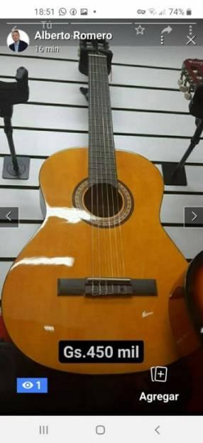 Guitarras nuevas