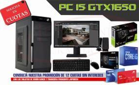 Pc de escritorio Intel Core i5 GTX1650