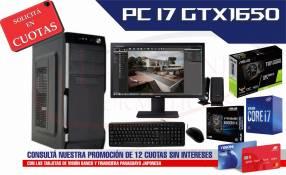 PC de Escritorio Intel Core i7 GTX1650