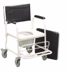 Silla sanitaria con ruedas