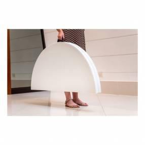 Mesa redonda plegable maletin 1,52 cm (130003)