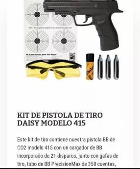 Pistola de aire comprimido Daisy 415