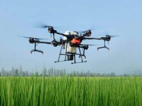 Drone DJI serie Agras T-20 agrícola