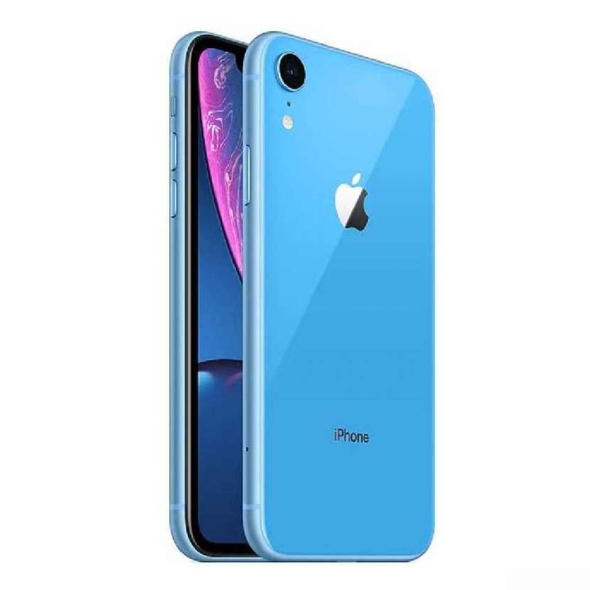 iPhone XR azul 128gb - 0