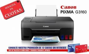Impresora Multifunción Canon Pixma G3160