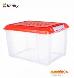 Caja Kendy Pandora nº 1 alta 20.5 litros con tapa nº59020