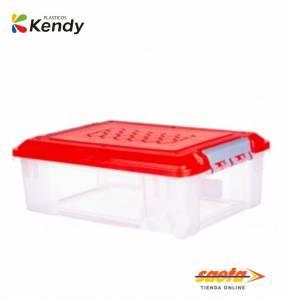 Caja Kendy Pandora nº1 baja 12 litros con tapa nº5900