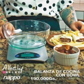 Balanza de cocina Nappo 5 Kg