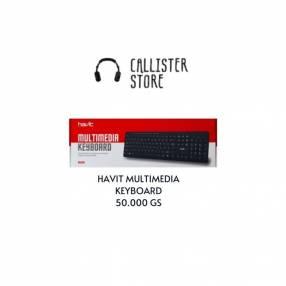 Teclado Havit Multimedia Keyboard