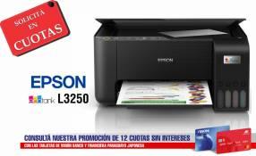 Impresora Multifunción Inalámbrica Epson EcoTank L3250