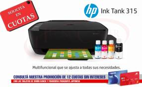 Impresora Multifunción HP Ink Tank 315