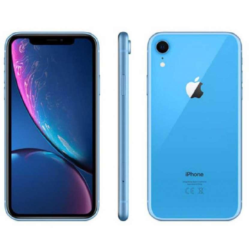 iPhone XR azul 128gb - 1