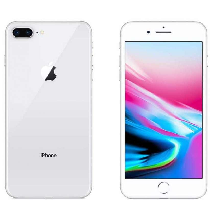 iPhone 8 plus 256gb silver - 1