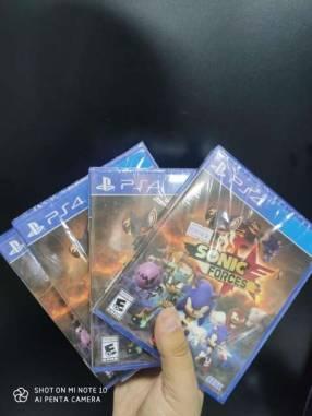 Juegos físicos de PS4