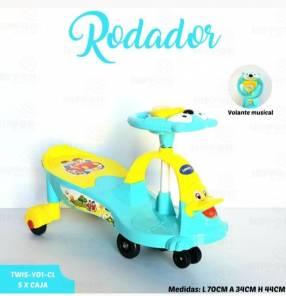 Rodadores ️musicales hasta 40 Kg