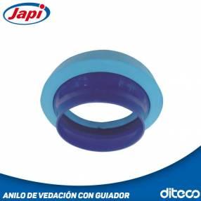 Japi anillo de vedación con guía