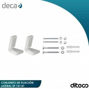 DECA SP.121 fijación lateral para inodoro/bidet