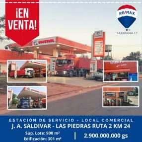 Estación de Servicio en J. Augusto Saldivar